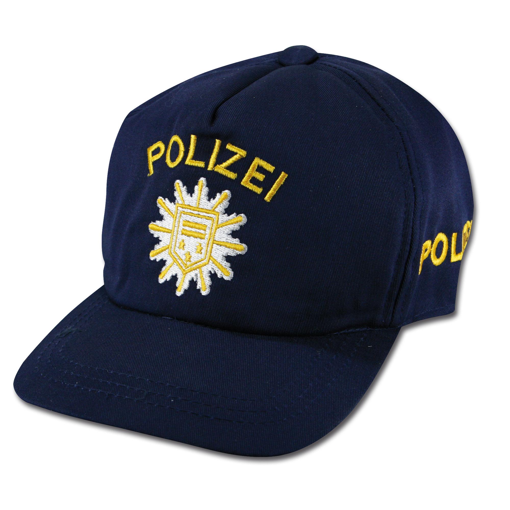 Kids Baseball Cap Polizei