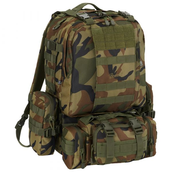 Brandit Backpack US Cooper Modular Pack woodland