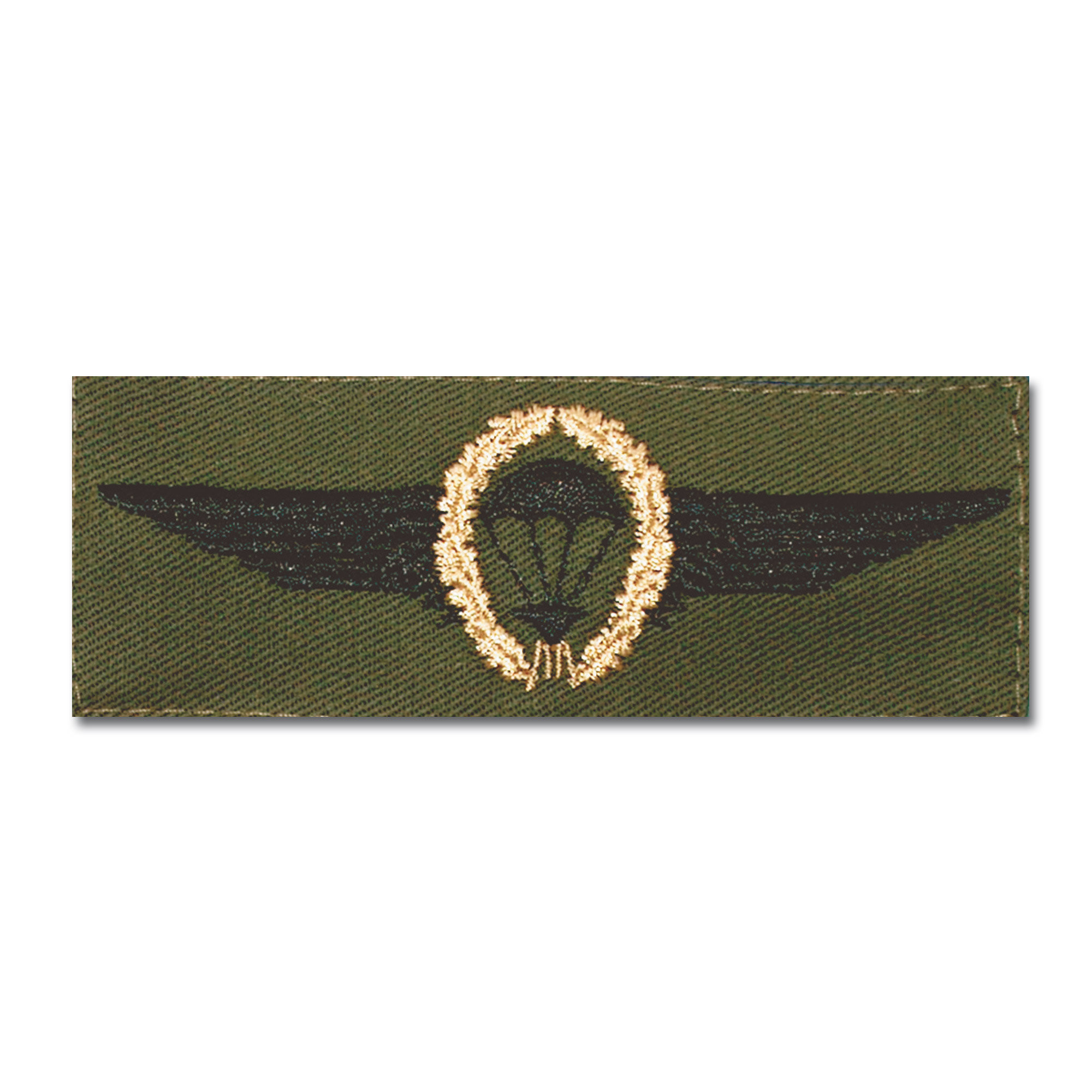 German Airborne branch insignia bronce/oliv