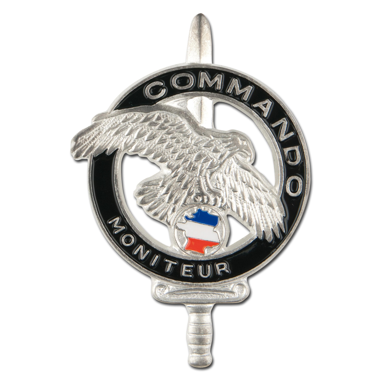 French Insignia Commando Moniteur