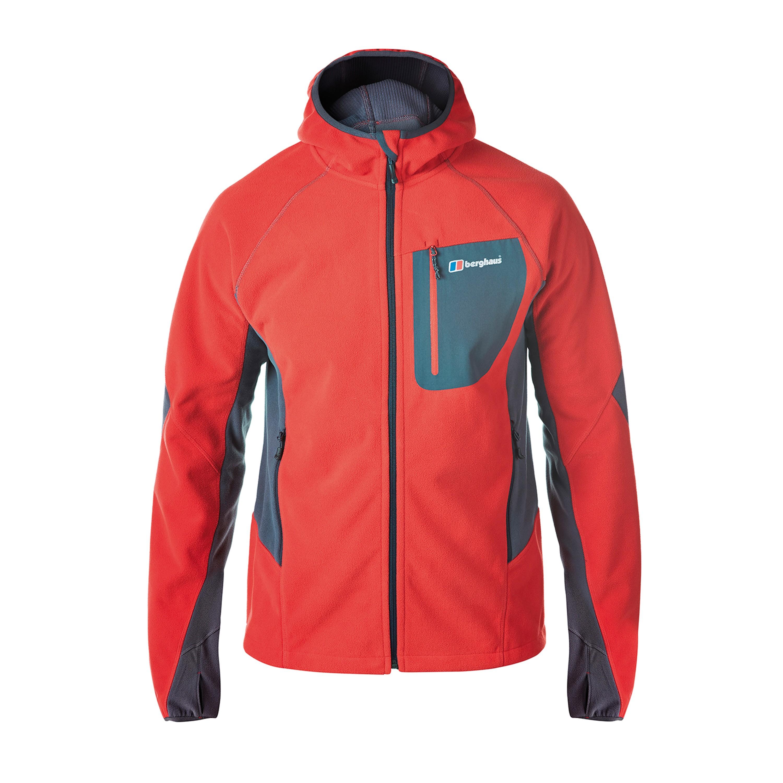 Jacket Berghaus Ben Oss Windproof Hooded red