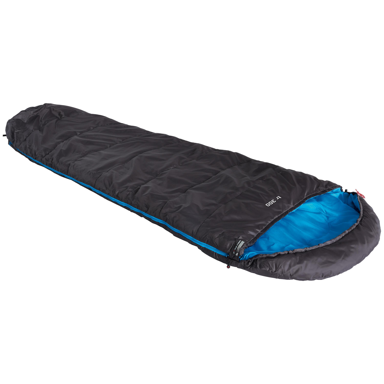 High Peak Sleeping Bag TR 300 Zipper Left black/blue