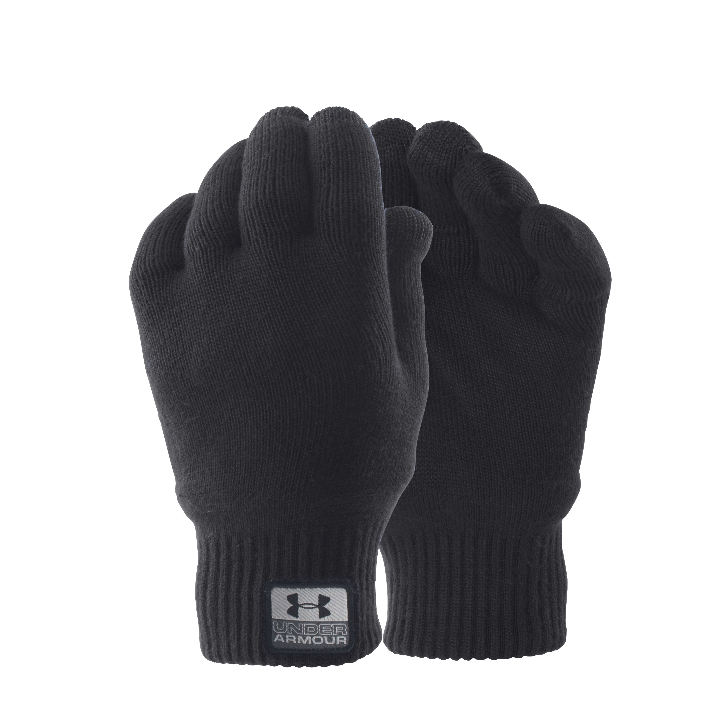 Under Armour Gloves Fuse Knit black