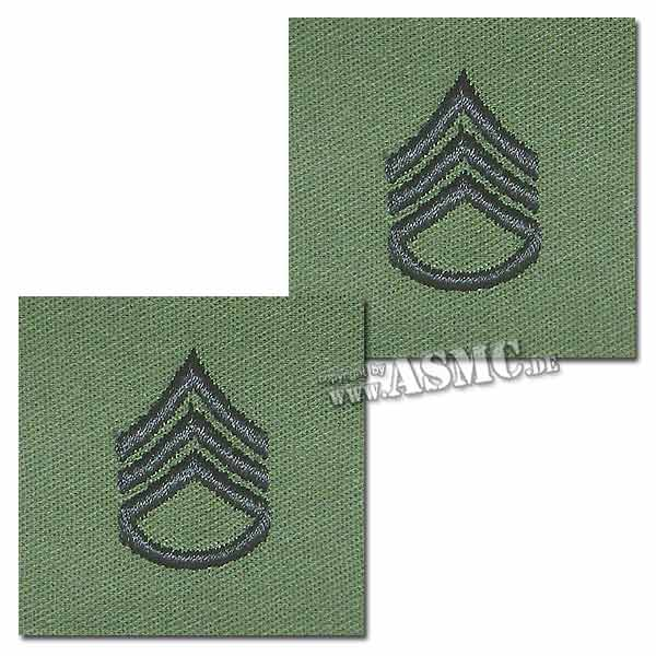 Rank Insignia U.S. Chevron Textile Staff Sergeant
