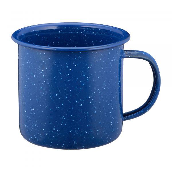 Enameled Cup 300 ml blue