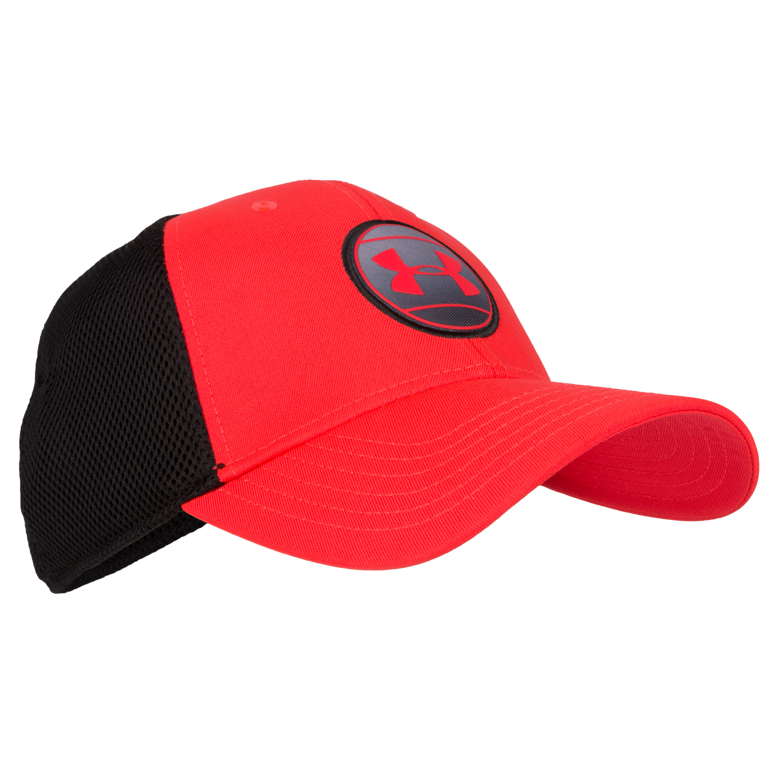 Under Armour Cap Mesh Stretch Fit red/black