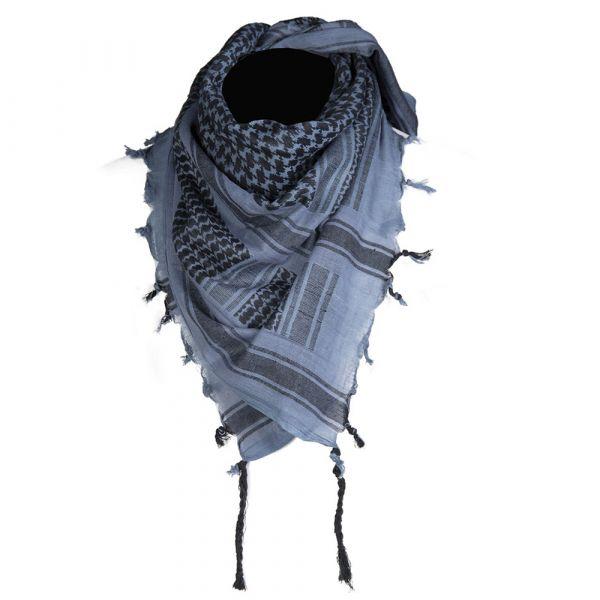 Mil-Tec Shemagh 110x110 cm blue/black