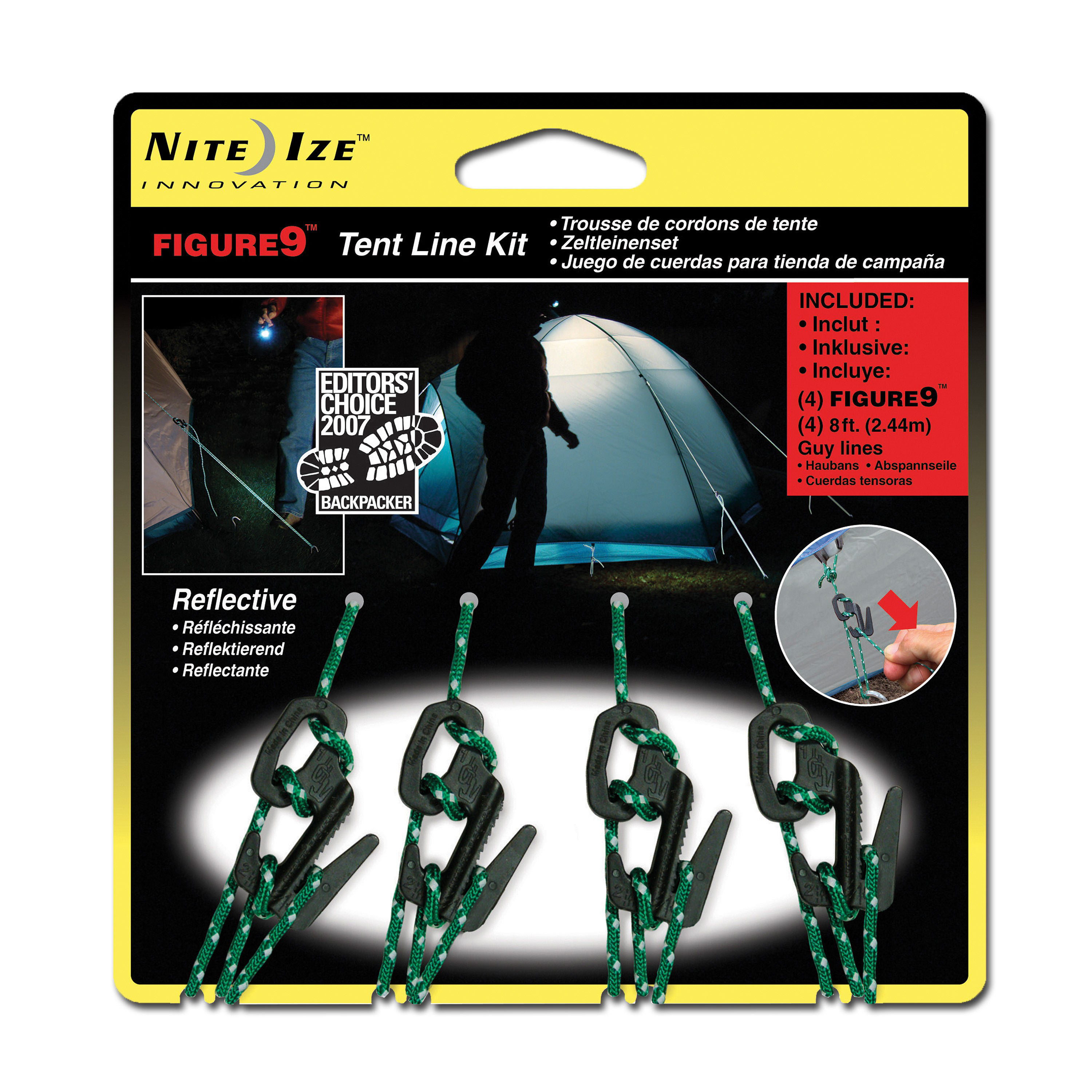 Nite Ize Figure 9 Tent Rope Set