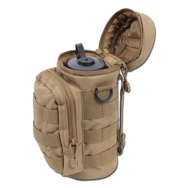 Water Bottle Pouch Rothco MOLLE coyote