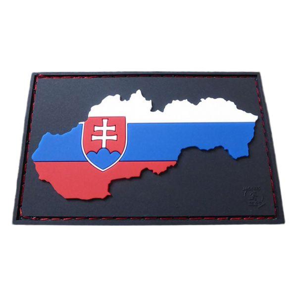 JTG 3D Patch Slovakia Flag full color