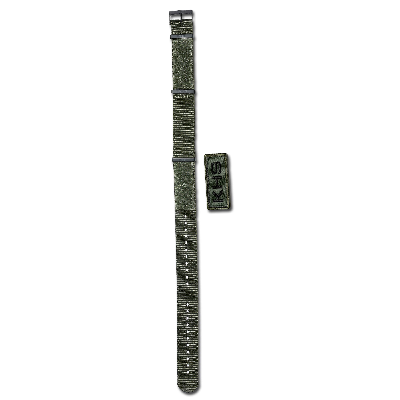 Watchband KHS Nato X-TAC olive 22 mm