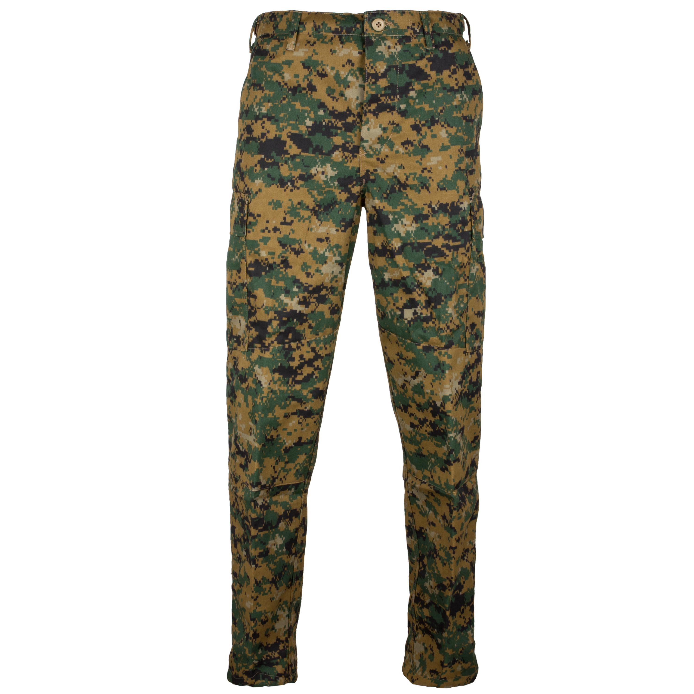 Tru-Spec Combat Pants digital woodland