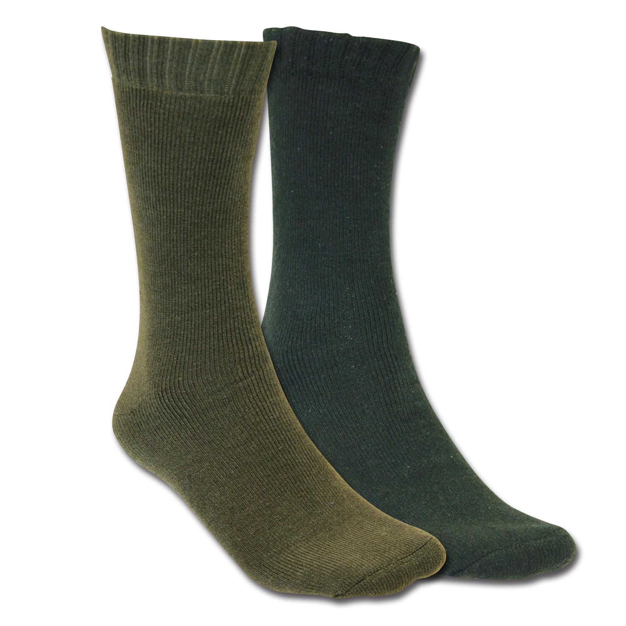 Thermal Socks MMB olive green/black