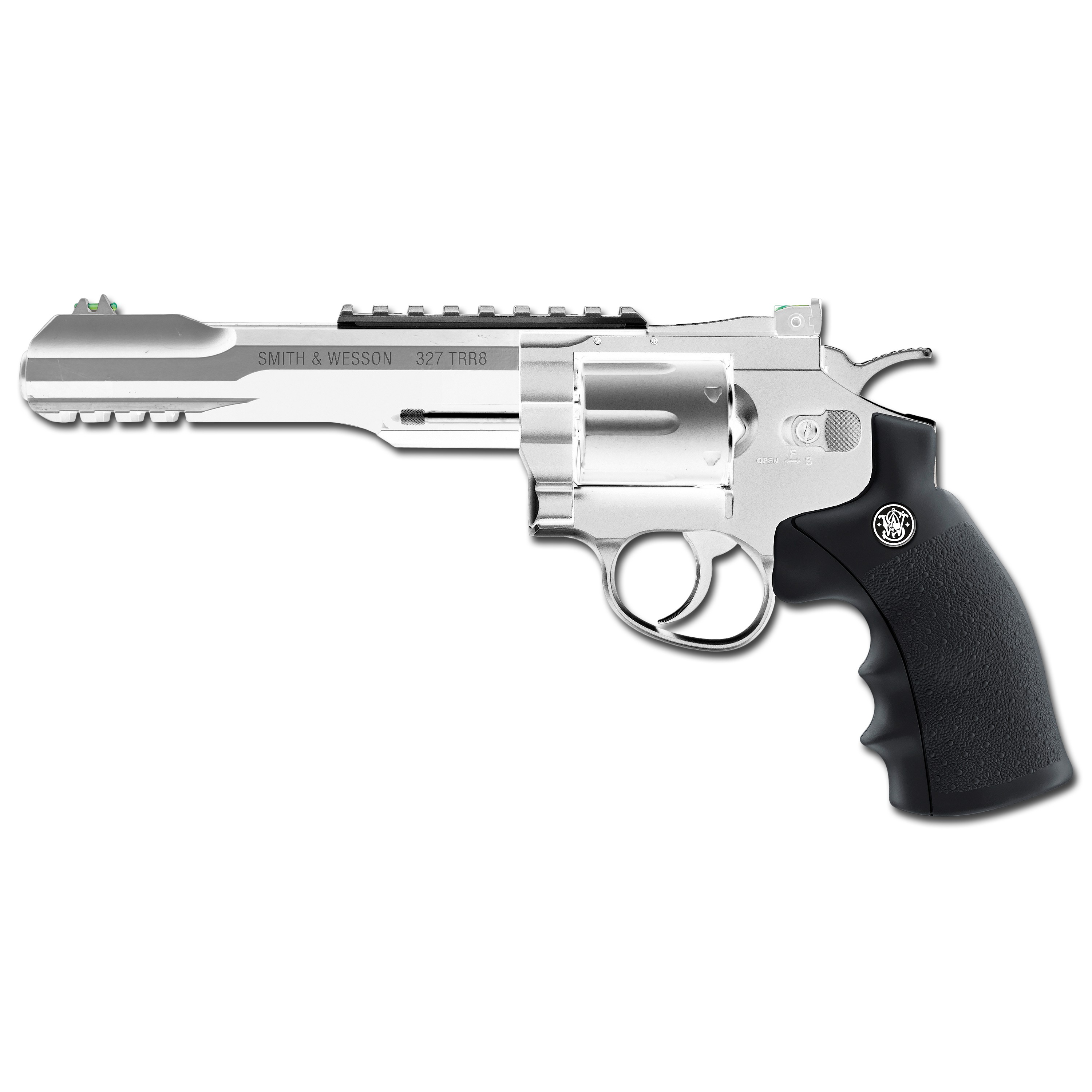 Revolver Smith Wesson 327 TRR8 nickel-plated