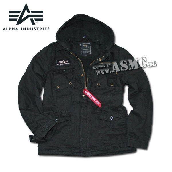 Alpha Jacket Rod black