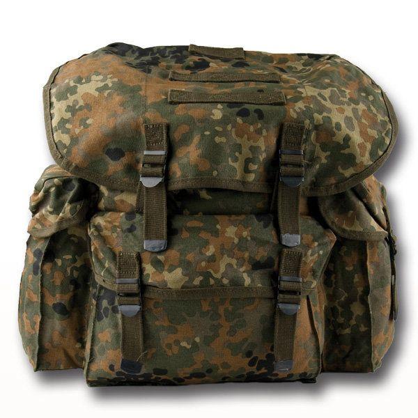 City Backpack flecktarn