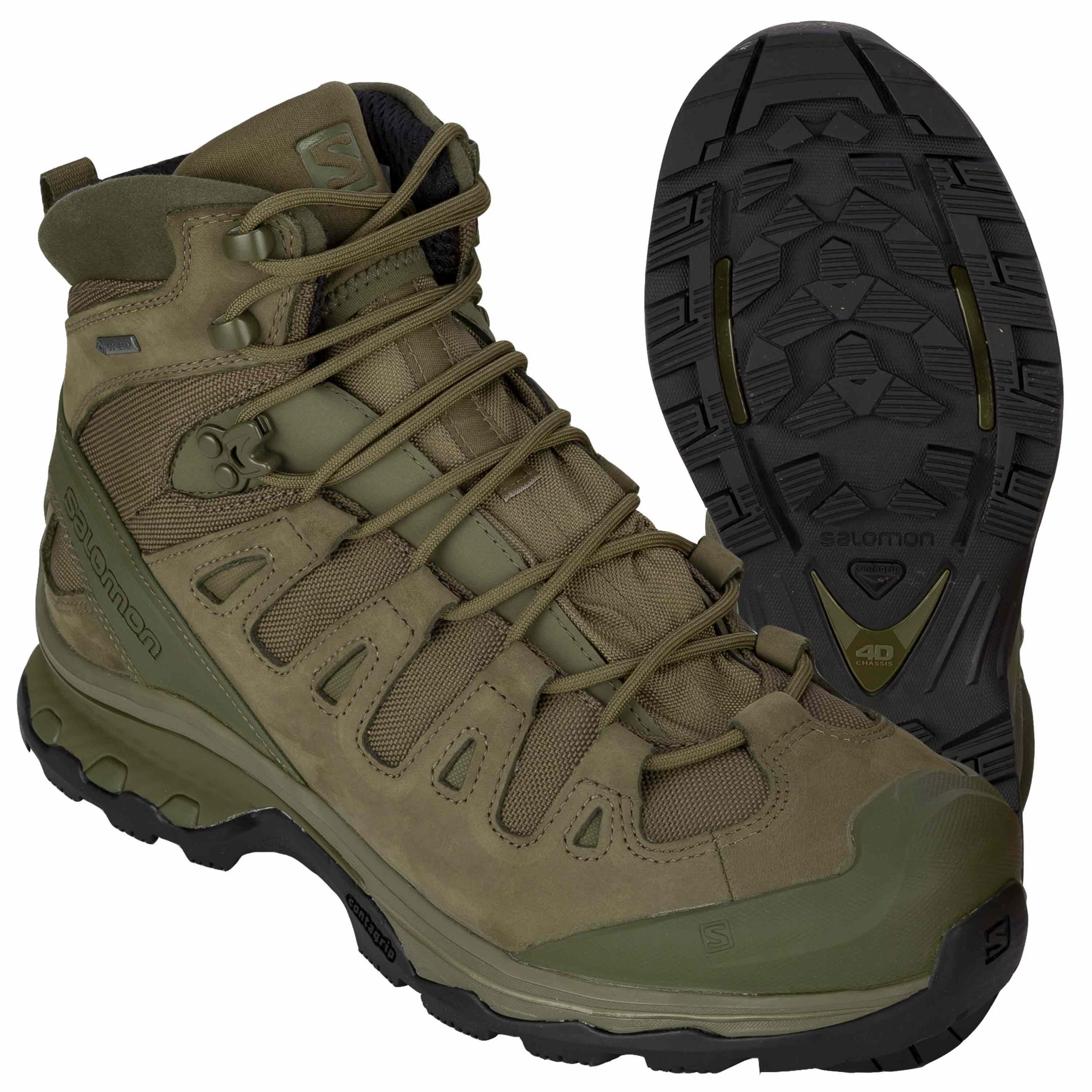 Salomon Boots Quest 4D GTX Forces 2 ranger green