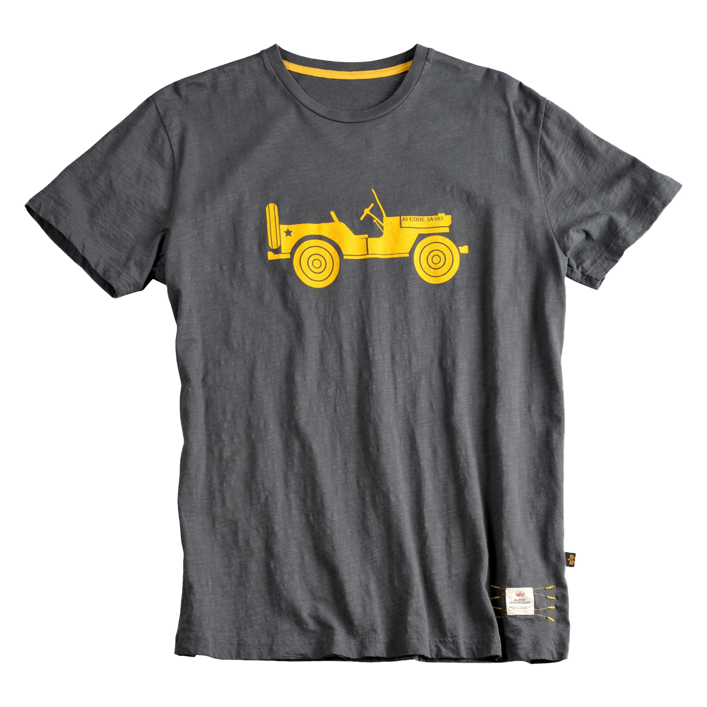 Alpha Industries T-Shirt Willys gray
