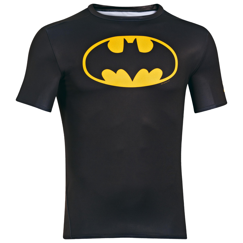 Under Armour Shirt Alter Ego Batman black