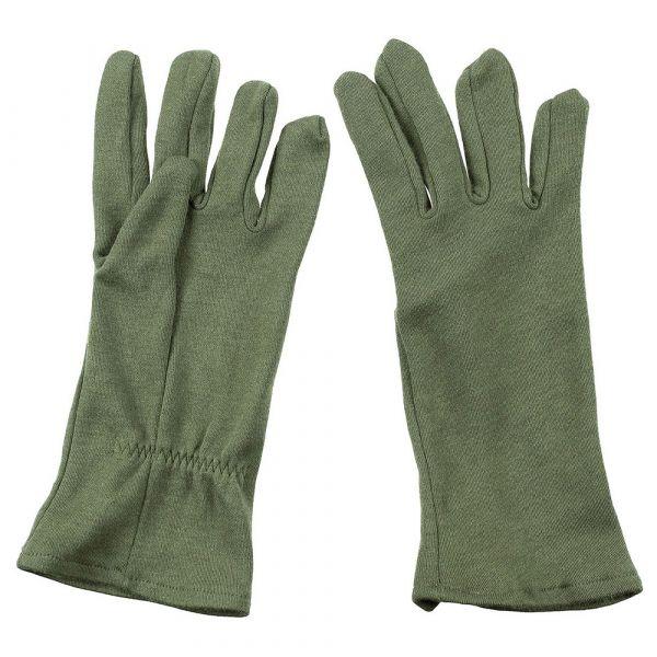 British Army FR AFV Crew Gloves Like New olive