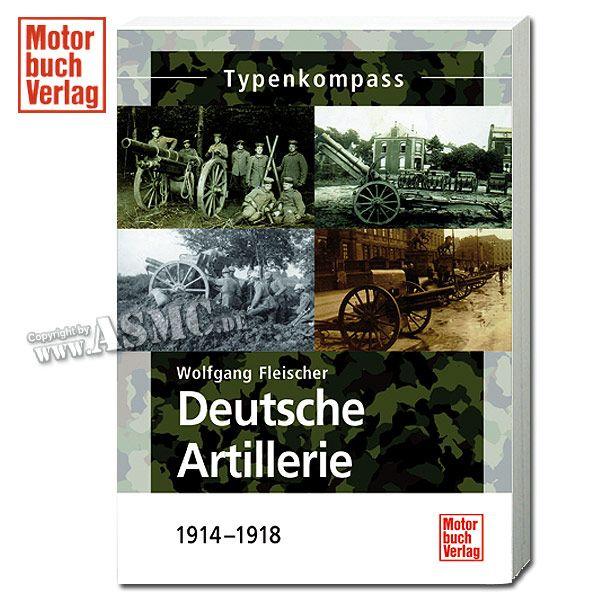 Buch Deutsche Artillerie - 1914-1918