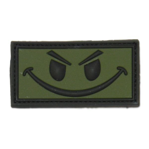 3D-Patch Evil Smiley forest