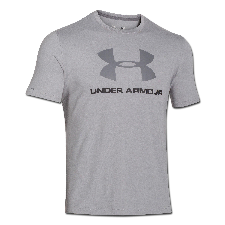 Under Armour Shirt Sportstyle Logo gray