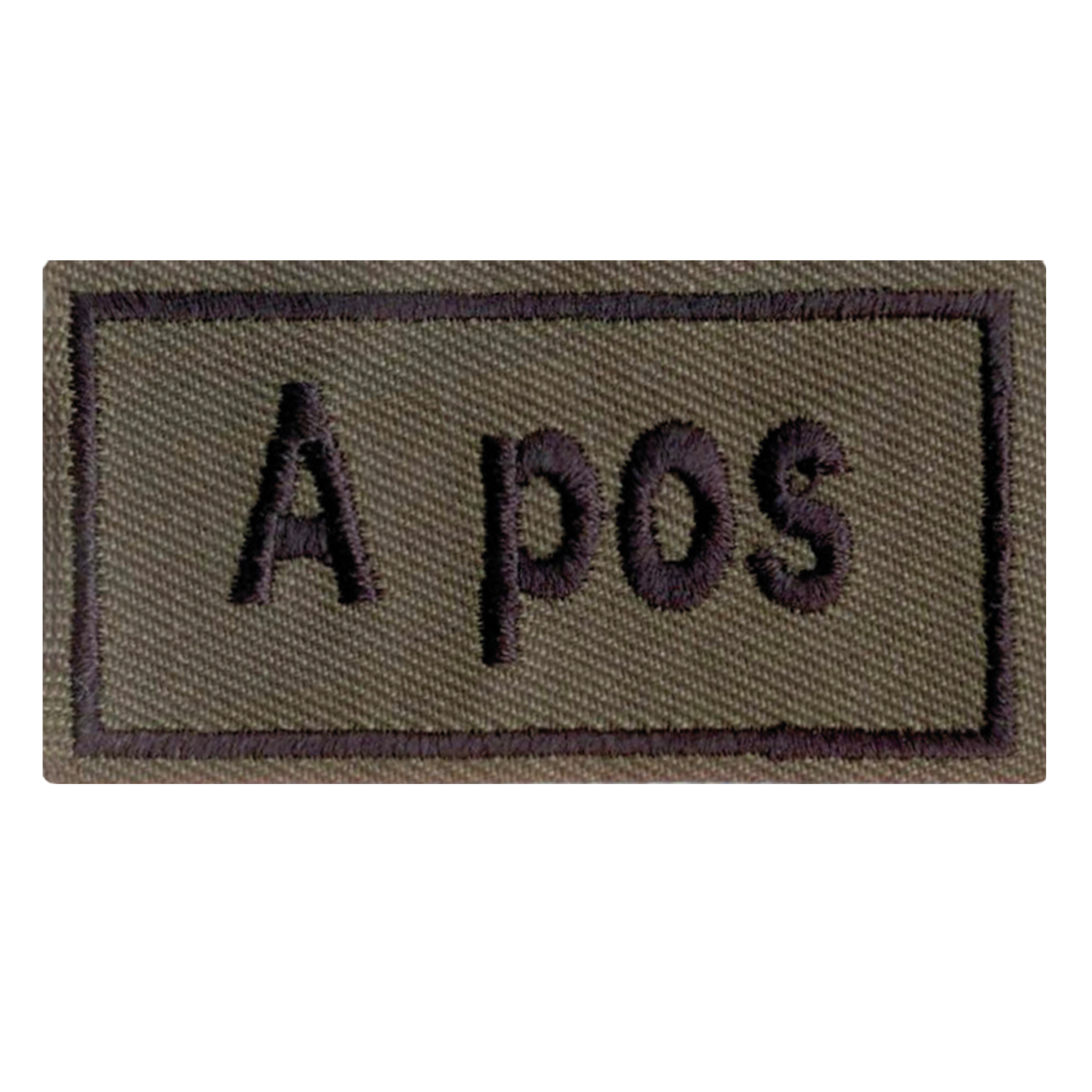 Blood Type Patch A pos. olive
