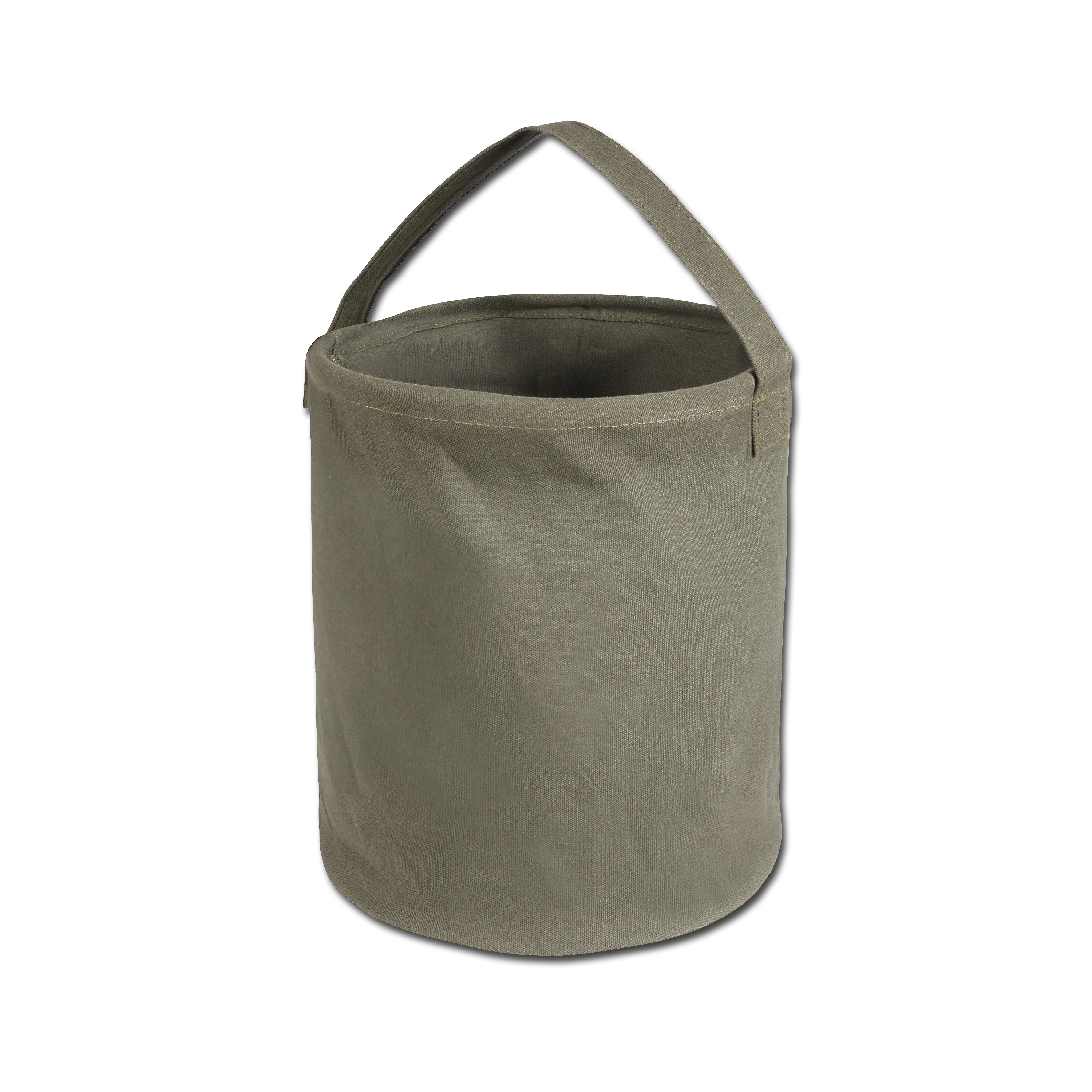 Water Bucket Rothco Canvas Large olive