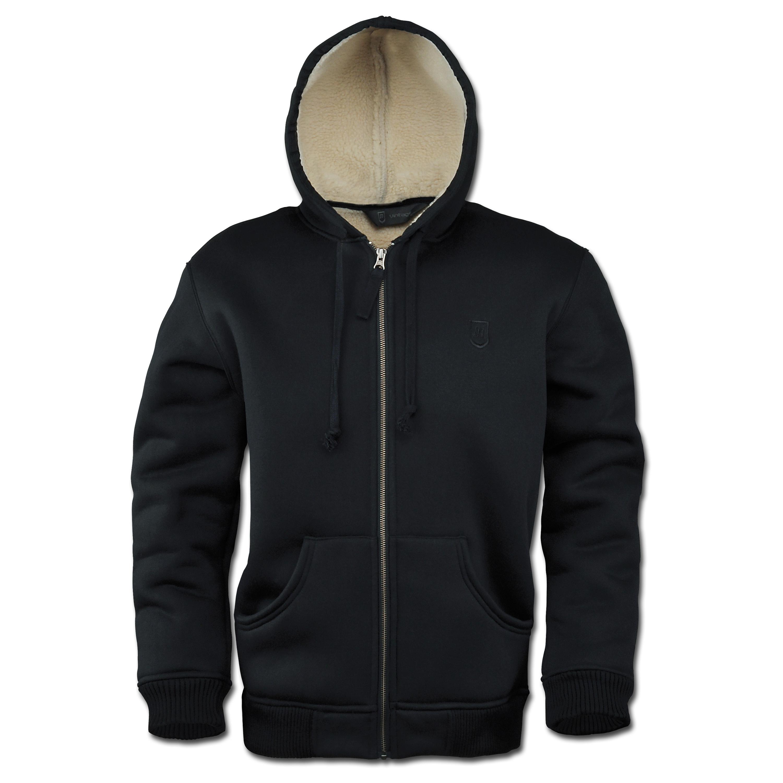 Sweat Jacket Vintage Industries Freeport black