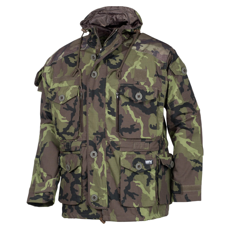 Commando Jacket MFH Smock Rip Stop M 95 CZ camo