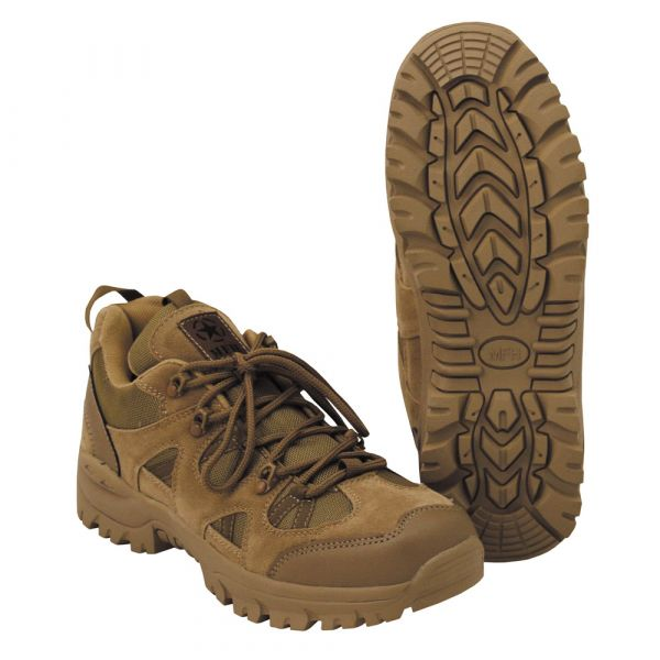 MFH Tactical Shoe Low coyote tan