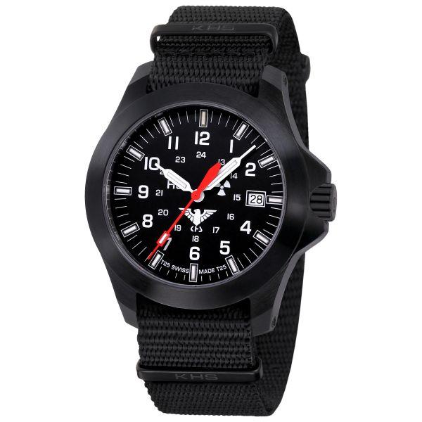 KHS Watch Black Platoon LDR NATO Band black