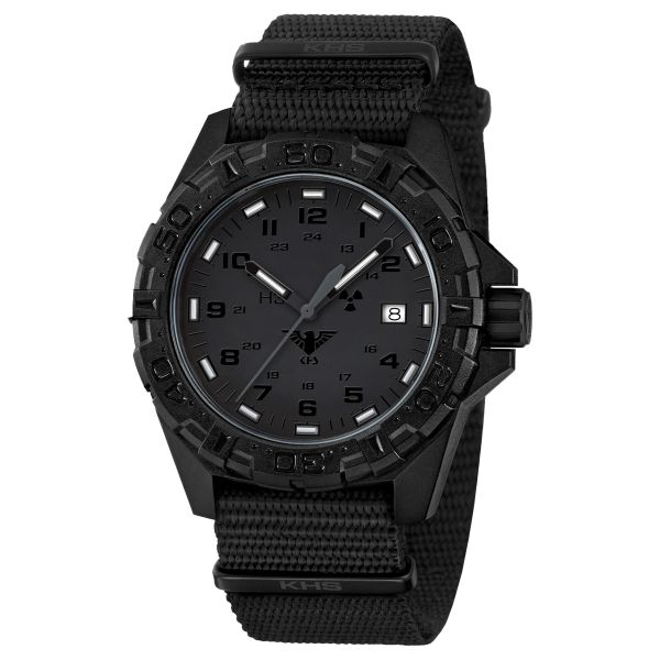 KHS Wrist Watch Reaper XTAC NATO Band black