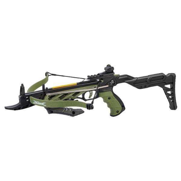 Man Kung Pistol Crossbow Alligator II 80 lbs olive