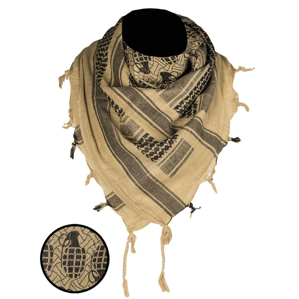 Mil-Tec Pineapple Grenade Shemagh Headscarf