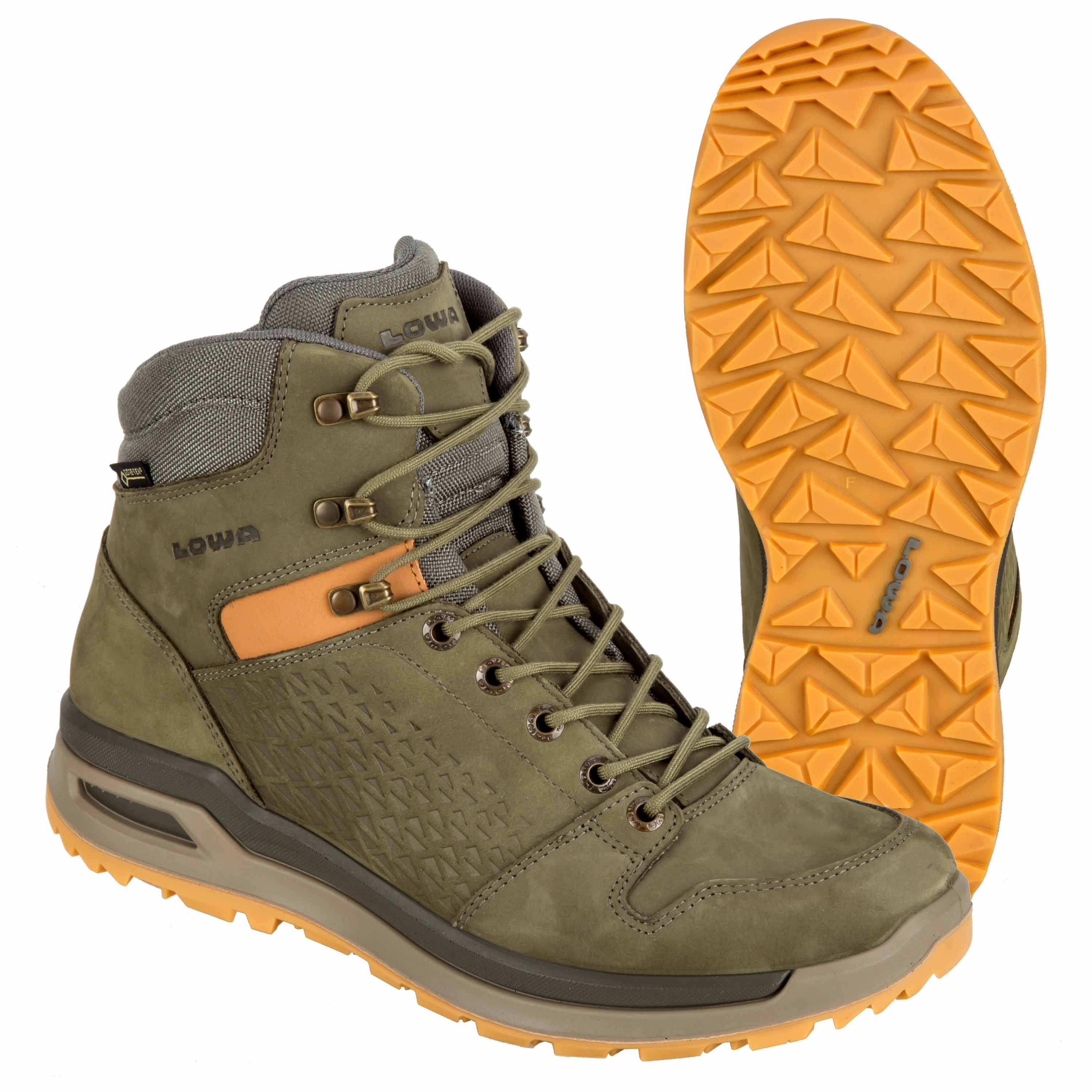 Buy Lowa Boots Locarno GTX Mid forest