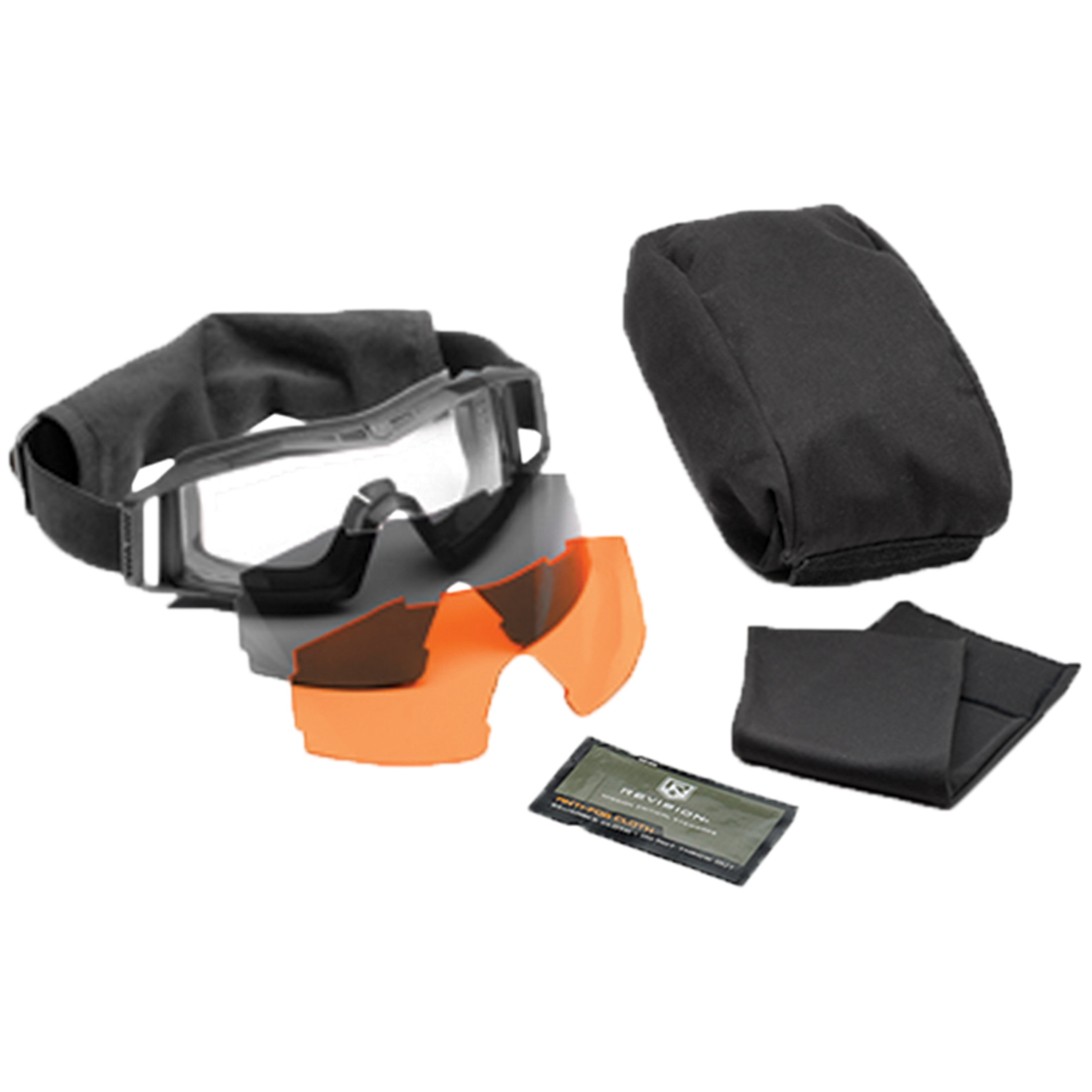 Revision Goggles Wolfspider Deluxe black/orange lens