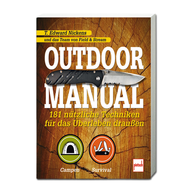 Book Outdoor Manual - 181 nützliche Techniken für das Überleben
