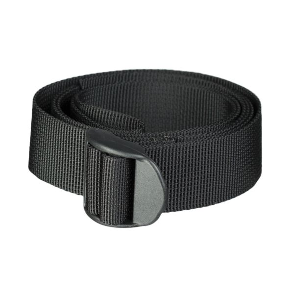 Pack Strap 25 mm with Bar Buckle 120 cm black