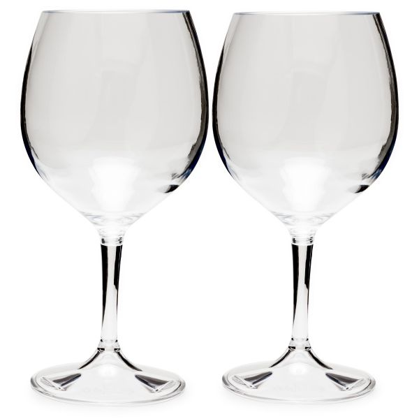 GSI Outdoors Nesting Red Wine Glass 2 Set