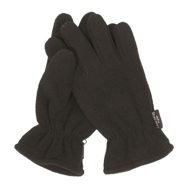 Fleece Gloves Thinsulate black