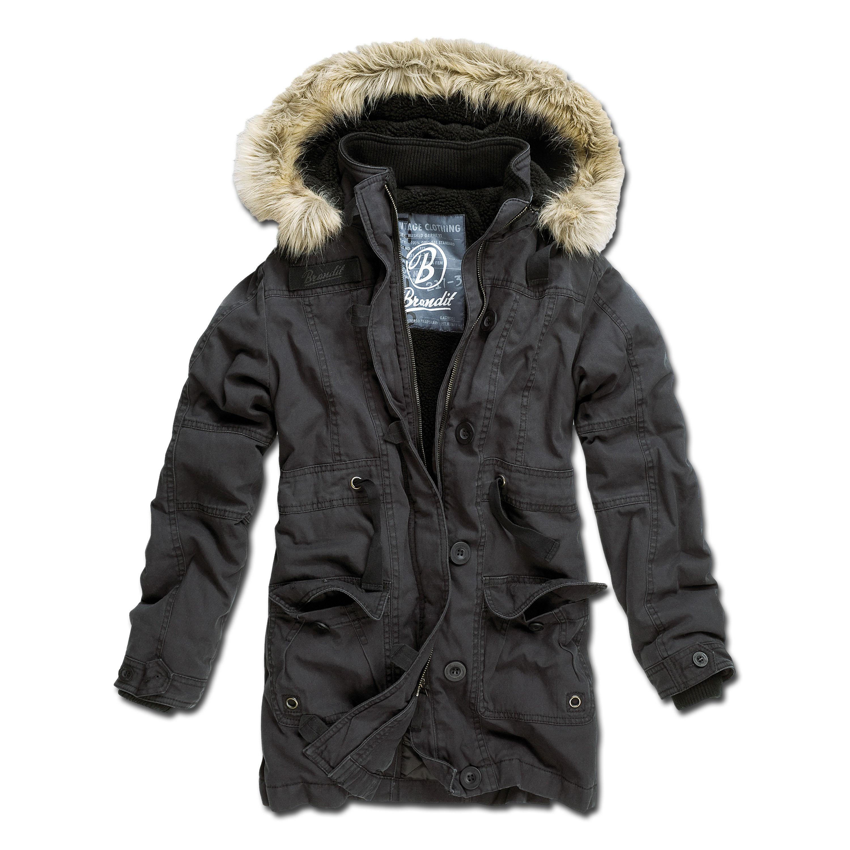 Jacket Brandit Ladies Nolita Vintage black