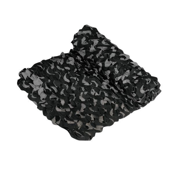 Crazy Camo Netting black 6 x 2,4 m
