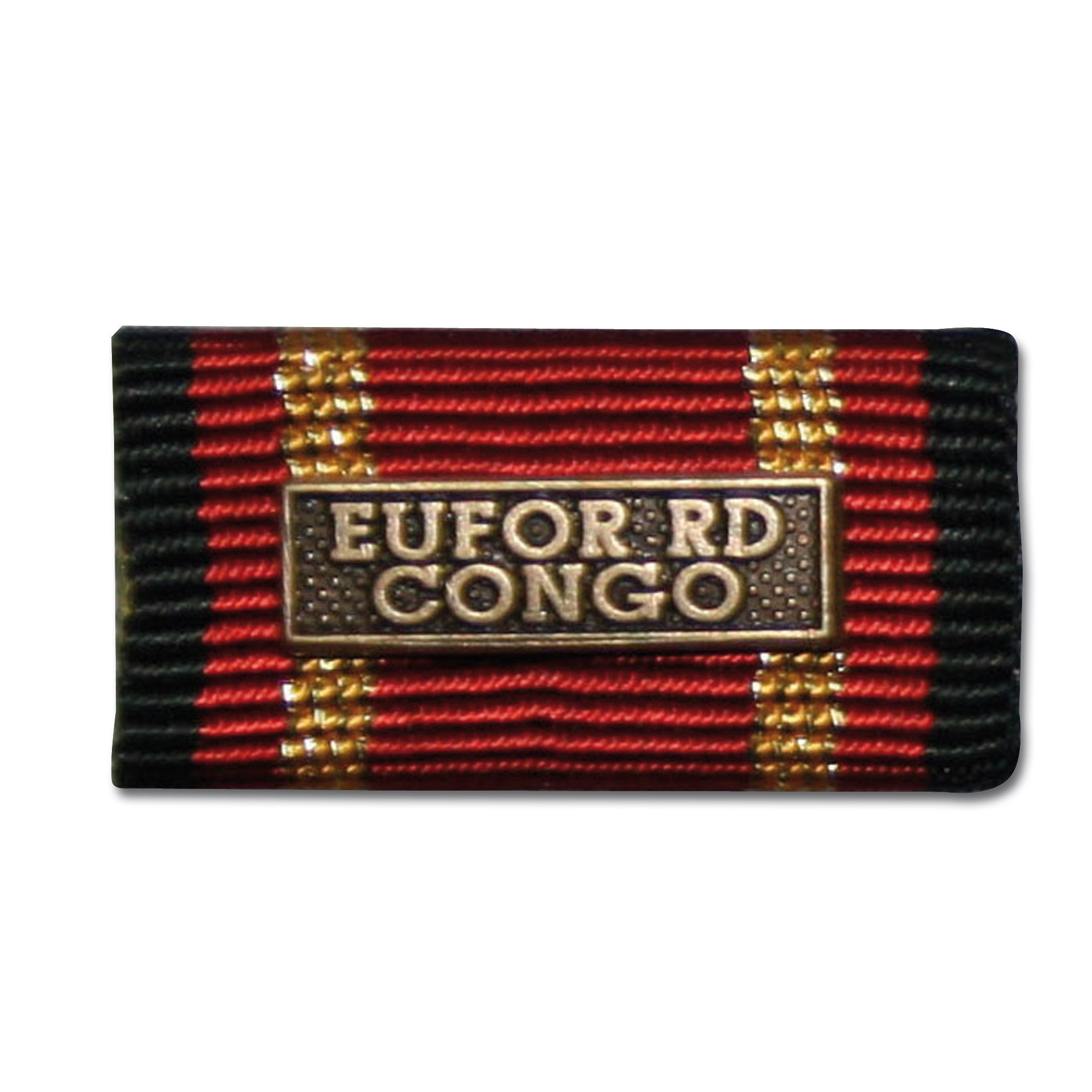 Service Ribbon Deployment Operation EUFOR RD CONGO