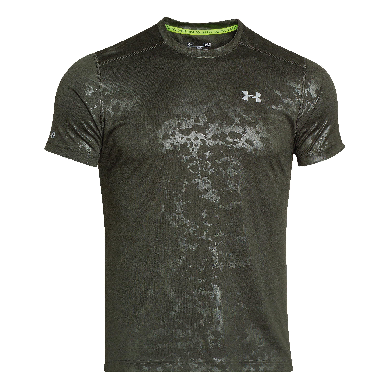Under Armour T-Shirt Coldblack Run green