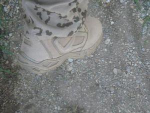 Stiefel mit Tropentarn