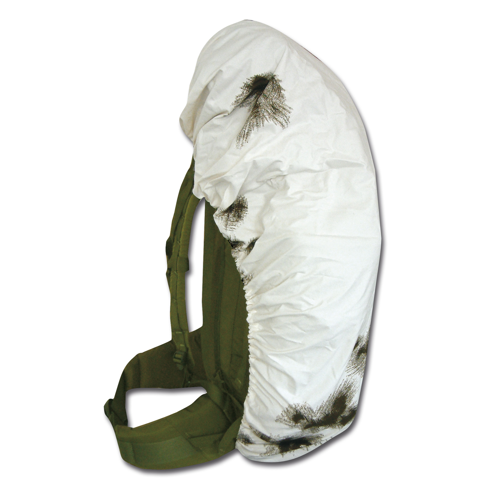 Backpack Cover snow camo III