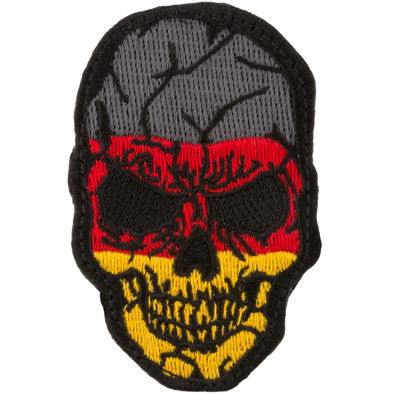 Café Viereck Patch Skull Germany