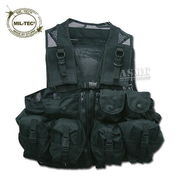 Tactical Vest Mil-Tec CCE black